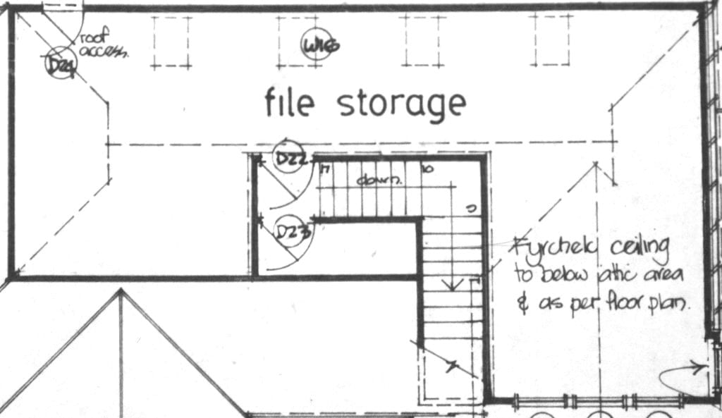 mudgee apartments detailed drawing plan