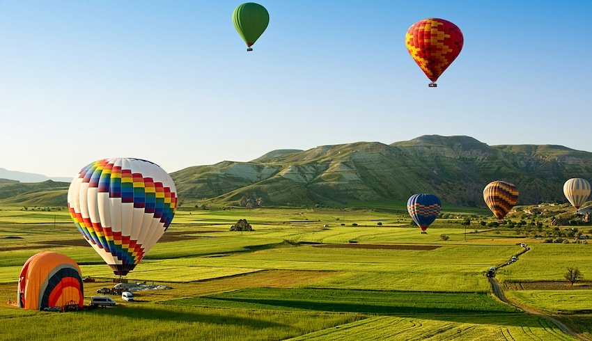 hot air balloon flights in mudgee